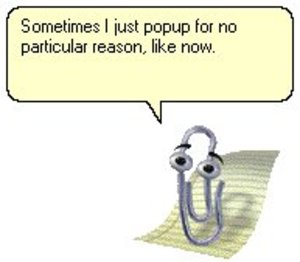 MS Office Clippy